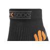 X-Socks Bike Racing sukat , musta